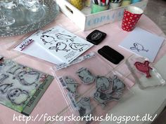 Fasters korthus: Tim Holtz and Dina Wakley Birds