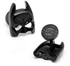 Mancuernillas de la máscara de Batman