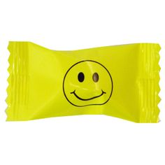 Click for larger picture of SMILEY FACE BUTTERMINTS PARTY SUPPLIES