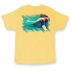 Guy Harvey Yellow Guy Harvey Glider Short Sleeve T-Shirt ($24) ❤ liked on Polyvore featuring men's fashion, men's clothing, men's shirts, men's t-shirts, yellow, mens t shirts, mens short sleeve t shirts, mens cotton t shirts, mens cotton shirts and mens yellow shirt