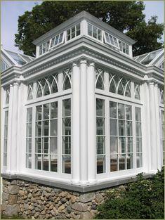 Windows of an English Greenhouse