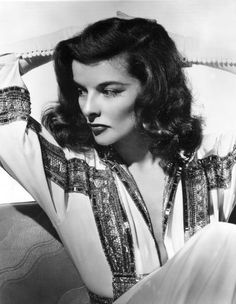 Miss Katharine Hepburn, one of my all-time favorite actors and style icons.