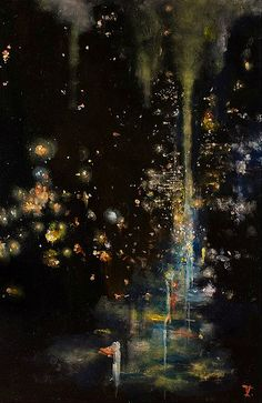 Zachary Johnson, Disappointed People Holding on to Guardrails Aesthetic Art, Aesthetic Pictures, Poesia Visual, Art Et Illustration, Nocturne, Of Wallpaper, Pretty Art, Art And Architecture, Oeuvre D'art