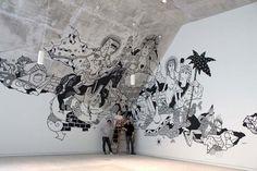 Künstlerkollektiv Klub7 und Wandmalerei