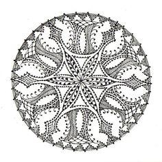 Zentangle art #inspiration #woodburning