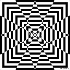 Vecteur : Motif géométrique noir et blanc.