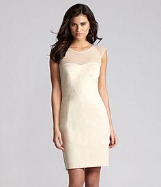 Gianni Bini Anastasia Illusion Dress