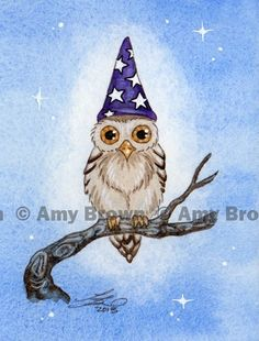 """Amy Brown -""""Hootie the Wizard"""""""