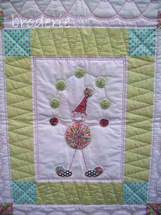 The Juggler, Cot Quilt By Trish Harper Designs