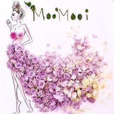 """""""2 0 0  r o s e s  make a lovely skirt ~  #SomeFlowerGirls #roses à gogo ~ #lifesize"""""""