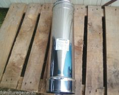 TUBO CANNA FUMARIA MONOPARETE DA 100 X 1metro CORDIVARI