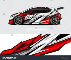 Find Car Wrap Decal Designs Abstract Racing stock images in HD and millions of other royalty-free stock photos, illustrations and vectors in the Shutterstock collection. Racing Stickers, Car Decals, Honda Accord Custom, Vinyl Wrap Car, Racing Car Design, Design Vector, Drift Trike, Honda Fit, Racing Stripes