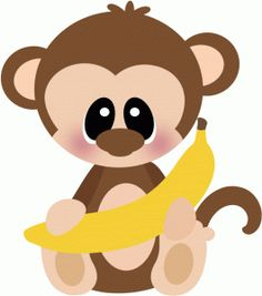 monkey Clip Art | Hanging Monkey clip art - vector clip ...