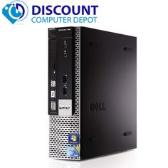 Dell Optiplex 780 Desktop Computer Core 2 Duo 3.0GHz 4GB 250GB Windows 10 Home