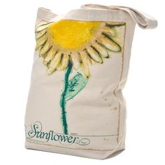 Sunflower Market Tote by Stephanie $12 Summer is almost here! Look at all the great #Sunflower items designed by pediatric cancer patients at MD Anderson Cancer Center  #endcancer