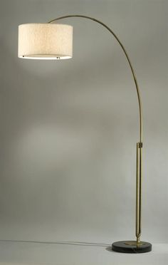 This looks like it might have a diffuser. $630 retails. Viborg 1-Light Arc Floor Lamp