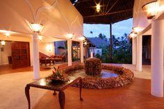 #Azanzi entrance Beach Hotels, Entrance, Villa, Table Decorations, Luxury, Amazing, Room, Furniture, Home Decor