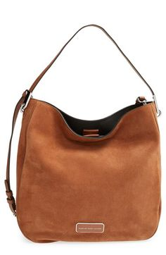 MARC BY MARC JACOBS MARC BY MARC JACOBS 'Ligero - Sporty Suede' Hobo available at #Nordstrom