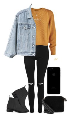 """""""into the city"""" by an-island-rarity on Polyvore featuring Opening Ceremony, Topshop, Gap, Anya Hindmarch and Sydney Evan"""