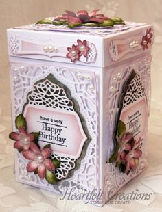 Heartfelt Creations | Happy Birthday Box