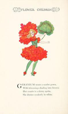 Flower Children by Elizabeth Gordon.  Ills by M.T. Ross.... one of our Favorites!