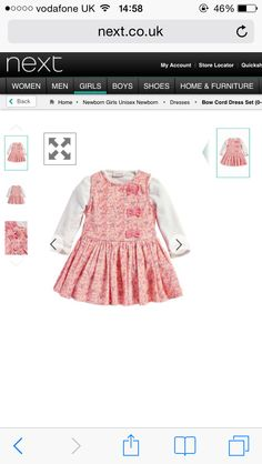 A/W GIRLS TUNIC AND DRESS SET - Next