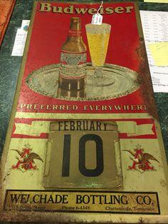 Budweiser Beer Calendar