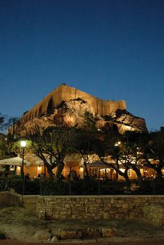 [Under the Acropolis]  ... Enchanting & magical