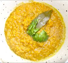 Bursting with flavour Red Lentil Dhal