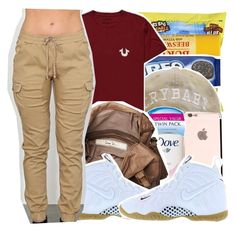 """""""whatever"""" by haraj-uku ❤ liked on Polyvore featuring Mode, True Religion, Friis & Company und NIKE"""