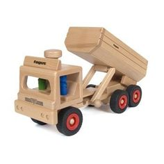 Fagus Wooden Dump Truck - Made in Germany by Fagus, http://www.amazon.com/dp/B002FBC82A/ref=cm_sw_r_pi_dp_AwfYrb055SA2Q