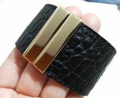 Fecho imã>> compre aqui: http://www.elo7.com.br/bracelete-couro-fecho-ima/dp/5C2DEE