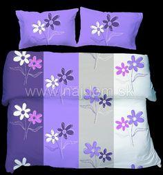 Bavlnené obliečky - Blume na modrom M43