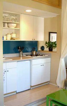 Cocinas para espacios peque os cocinas y despensas for Cocinas en espacios reducidos