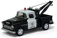 "5"" 1955 Chevy Stepside Pick-up Tow Truck (Police) 1:32 Scale Kinsmart http://www.amazon.com/dp/B00SW2R8F8/ref=cm_sw_r_pi_dp_W.G4ub19FDD1Q"