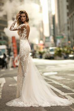 WedLuxe – Berta Bridal – Fall 2017 Lookbook | Follow @WedLuxe for more wedding inspiration!