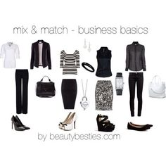 Business #fashion: build a wardrobe with these mix and match basics