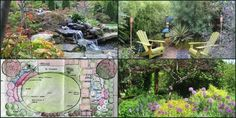 Sustainable gardening - good site- note the effectiveness of the defined oval lawn.