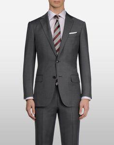 Grey Zegna Suit, perfect fit...
