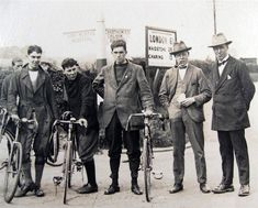 1920s Cycle Race, near Barming Heath, Maidstone, Kent, England.  Not far from Kent Mental Hospital.  (Edit: possibly located nearer Chartham Downs. The first Kent County Asylum was indeed at Barming Heath, but the second was at Chartham. The distances and directions on the road signs seen here are more consistent with the Chartham location.)