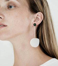 Faris Small Pendo Drop Earrings ($198) These will make even the simplest outfits so much more special.