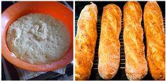 Hrníčkové BAGETY upečené za 20 minut: Hotové raz dva, voní po celém domě a zůstanou čerstvé i druhý den!   tyRecepty.cz Bread, Food, Brot, Essen, Baking, Meals, Breads, Buns, Yemek