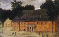 Theater Rudolstadt Friedrich Von Schiller, Theater, Painting, Art, Art Background, Theatres, Painting Art, Kunst, Paintings