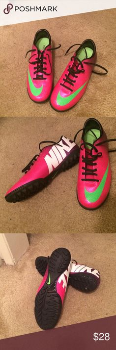 Soccer shoes Brand new Nike soccer shoes Nike Shoes Athletic Shoes