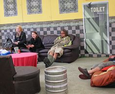 New Cross Tile Wallpaper. Larry's Lounge, Boomtown 2015