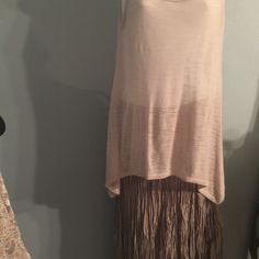 Top skirt necklace Sleeveless top. Crinkles Chico skirt  and necklace Other