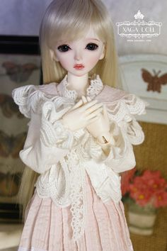 Amie, 42cm Xaga Doll Girl - BJD Dolls, Accessories - Alice's Collections