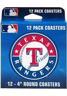 Texas Rangers 12 Pack Round 4` Coaster