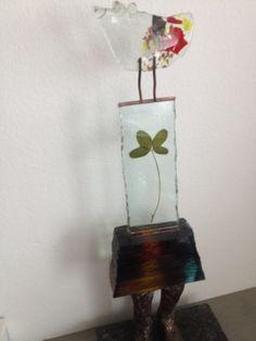 """Dit kunstwerk van Sjaak Smetsers """"geluk woont in je ziel"""" beeldt mijn leven uit lees verder op www.ritzn.nl/heb-je-het-lef-om-naar-jezelf-te-luisteren"""