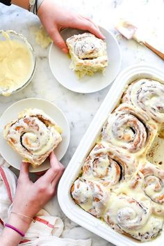 My Favorite Cinnamon Rolls | foodiecrush.com